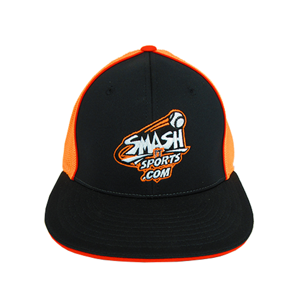 Buy Here Pay Here Md >> SIS OG Logo Hat in Black/Orange/White, FlexFit #165 by Richardson - Smash It Sports