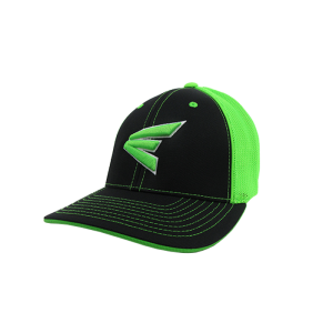 Easton Hat by Pacific (404M) Black/Neon Green/Black/White/Neon Green